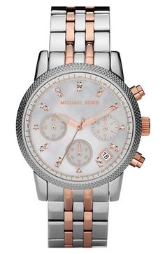 Michael Kors. Not quite chunky enough. Accepted the fact I will probably have to get a mans watch for it to be chunky enough for me!