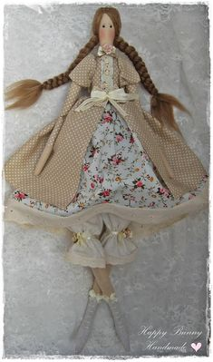 Tilda doll Tilda doll Miss Molly Fabric Handmade doll