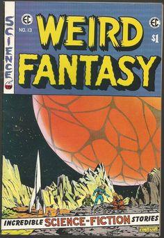WEIRD FANTASY #13 WALLY WOOD, Orlando Kamen Reprint EC Comics East Coast 1973