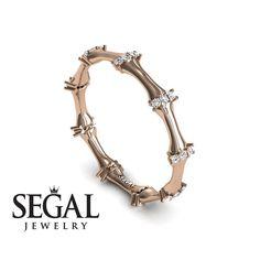 Minimalist Eternity Anniversary ring 14K Red #jewelry #ring @EtsyMktgTool #jewellery #engagementrings #anniversaryring #anniversaryrings