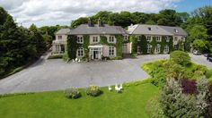 Rosleague Manor is a delightfully situated Four Star Country House Hotel in Connemara Co Galway Ireland - elegant guest bedrooms, superb restaurant and 30 acres of secluded woodland add to the charm of this beautiful Country House Hotel Country House Hotels, Galway Ireland, Connemara, Blue Books, Guest Bedrooms, Perfect Wedding, Acre, Woodland, Wedding Venues