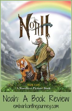 """Bring the story of Noah and the Artk to life with the amazing artwork in this wordless picture book. """"Noah"""" is a must-have for any Christian home library.  