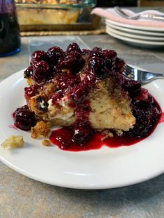 This quick and easy Baked French Toast Casserole is as delicious as its namesake. Simple to prepare ahead of time, store in the refrigerator overnight, and baked first thing in the morning while you enjoy the gift of time to sit and relax with family and guests. Prepare yourself for a lusciously decadent breakfast treat that doesn't require you to work in the kitchen all morning!   #mysweettoothbakery #breakfast #breakfastlover #frenchtoast #breakfastcasseroles #breakfastrecipes Baked French Toast Casserole, Breakfast Casserole Easy, French Toast Bake, Quick And Easy Breakfast, Compote Recipe, Berry Compote, Latest Recipe, Food Print, Sweet Tooth