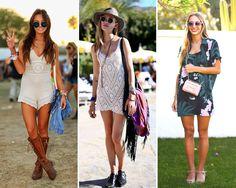 Looks inspirações do Coachella