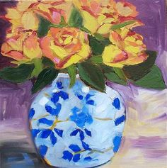 """Daily Paintworks - """"Gratitude"""" by Azra Iqbal"""