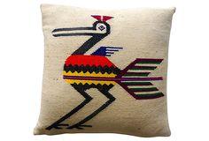 Bird Serape Pillow on OneKingsLane.com