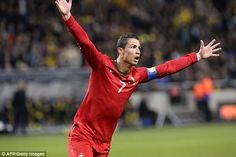 Sorry #Ibrahimovic not good enough | #ronaldo scores FOUR goals over two legs #worldcupqualifier