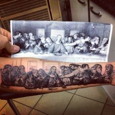This is a really cool tattoo! (picture by unknown and edited by Ben Hannon)