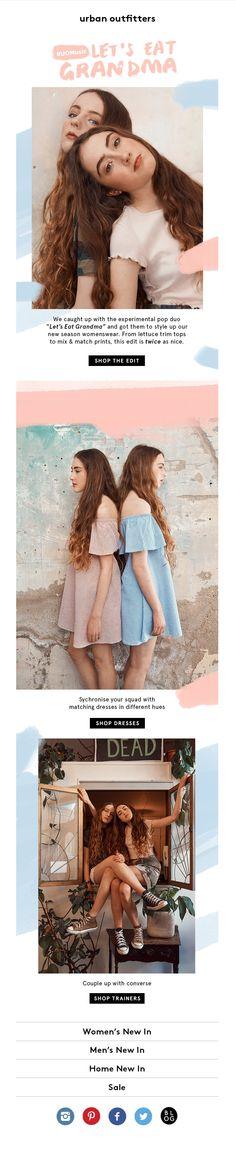 #web #weblayout #website #newsletter #pantone2016 #fashion