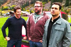 My words cannot describe how much I love the Top Gear US boys.  Tanner Foust, Adam Ferrara, and Rutledge Wood.