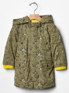 Floral utility jacket Product Image