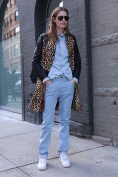 Los mejores looks de Street Style en la Semana de la Moda de Nueva York: Nadja Bender