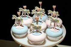 Cupcake: horse cupcake for babies