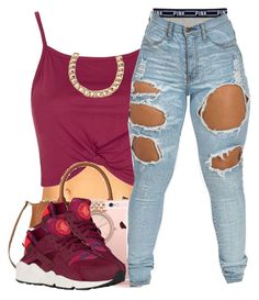 """No school"" by polyvoreitems5 ❤ liked on Polyvore featuring Topshop and Michael Kors"