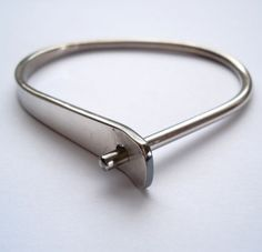 Pekka Piekainen Sterling Silver Modernist Bracelet 1970s - #EB246