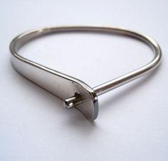 Pekka Piekainen Sterling Silver Modernist Bracelet 1970s - EB246