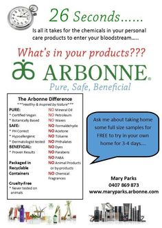 Have you tried Arbonne yet??? Chantalesindrey.arbonne.com