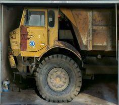 Fotoplane für Garagentor Truck / Garage Mural Truck