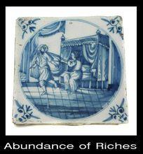 Authentic 18th century Dutch Delft Figural Tile Illustrates Story Joseph & Potiphars Wife rubylane ruby lane www.rubylane.com
