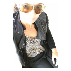 25 years old sunglasses in love . Jake T, 25 Years Old, Leather Jacket, Sunglasses, Blouse, My Style, Vintage, Fashion, Studded Leather Jacket