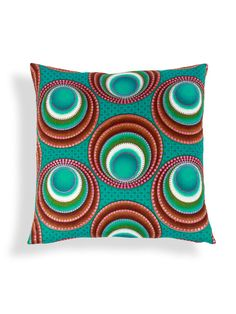 Lapalala Wax Resist Pillow by Found Object