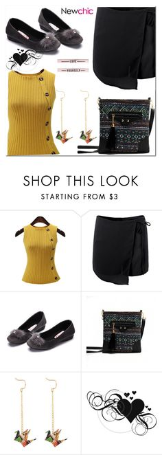 """""""newchic"""" by fatimka-becirovic ❤ liked on Polyvore featuring newchic"""