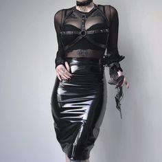 "kibbipixel: ""╳ can you feel the skirt ? from @blackmilkclothing do you like these kinda tight skirt ? ╳ . . . . . . . Top and skirt ; @blackmilkclothing AD #blackmilkclothing #blackmilkactive..."