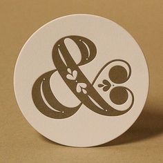 Ampersand by Jessica Hische — Fantastic Love Letters, made by some of the best... Drawn letters
