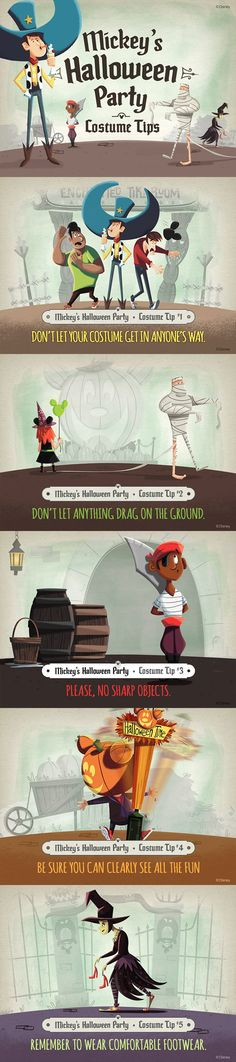 Going to Mickey's Halloween Party? Follow these costume tips to make sure you have a frightfully fun time!
