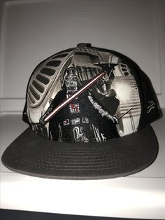 New Era Star Wars Darth Vader with movie scene background and empire symbol  on the side snapback 6ec79d175714