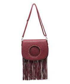 Love this Wine Fringe Caroline Crossbody Bag on #zulily! #zulilyfinds