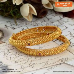 Gold Jewelry For Wedding Product Gold Bangles Design, Gold Earrings Designs, Gold Jewellery Design, Silver Jewellery, Silver Rings, Gold Designs, Diamond Jewellery, Handmade Jewellery, Pearl Jewelry