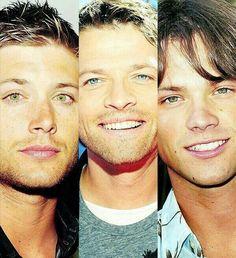 Jensen Misha &  Jared (*faints*)