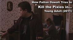 How Patton Oswalt Tries to Kill the Pixies in Young Adult (2011)