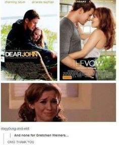 ...and none for Gretchen Wieners.