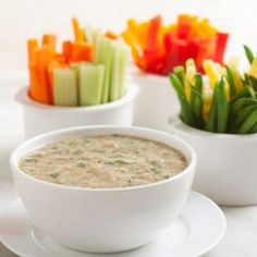 """This dip recipe is inspired by """"vitello tonnato,"""" a classic Italian dish in which veal is served with a creamy tuna (tonnato) sauce."""