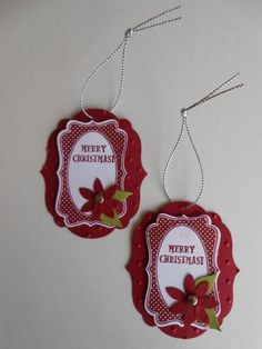 two tag die christmas projects | ... Projects and Tags Christmas | Pinterest | Gift Tags, Christmas Gift