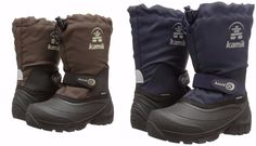 Kamik Boys Snoday Insulated Winter Snow Boots Shoes Little Kid 1 Medium US  #Kamik #SnowBoots