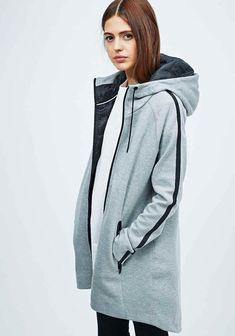 Nike Tech Fleece Aeroloft Parka in Grey - Urban Outfitters Nike Tech Fleece, Sport Outfits, Casual Outfits, Hijab Fashion, Fashion Outfits, Jackets For Women, Clothes For Women, Sporty Style, Sport Fashion
