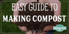 Building a compost pile is a necessary thing for your garden. Compost is very beneficial and it is a lot easier to get right than you might think! Find out how to do it today, or pin it for later! How To Start Composting, How To Make Compost, Garden Compost, Potager Garden, Gardening For Beginners, Gardening Tips, Kitchen Gardening, Bokashi, Home Vegetable Garden