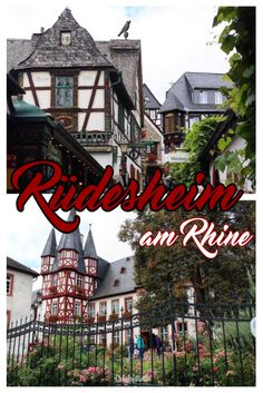 The Darling Storybook Town of Rüdesheim am Rhine, Germany - California Globetrotter