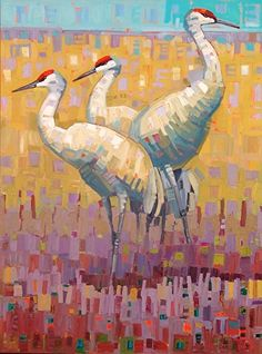 """""""Solidarity""""-Rene' Wiley-40x30 inches- oil on canvas by Rene' Wiley Gallery Oil ~ 40 x 30"""