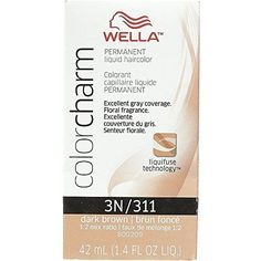 Wella Color Charm Liquid Haircolor 3n/311 Dark Brown, 1.4 oz (Pack of 5) -- More details can be found by clicking on the image. #hairclip