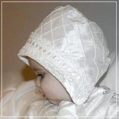 Google Image Result for http://www.petiteparfait.ca/christening/bonnets/silkpintuckbonnetwithlace.png