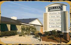 Miller S Seafood Outer Banks Steakhouse Milepost On The Beach Road Hwy Kill Devil Hills Nc Pretty Tasty Breakfast Spot