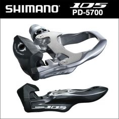 The Shimano PD-5700 is the 105 series road pedal set, which means two things: it's