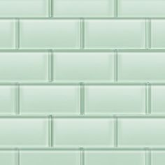 Shop For Loft Seafoam Polished 3 X 6 Glass Tiles at TileBar.com