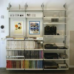 music vinyl and cd shelving for music collectors a gallery of vitsu0027s 606 universal shelving system designed by dieter rams