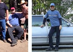 Dave, age 58, admits he was nearly dead until he watched Fat, Sick & Nearly Dead. In his before picture, he was in too much pain to stand with the rest of his friends, but after introducing juice into his life for 10 days, he is now healthy and medication and pain free. Read his success story to find out how he lost 105 pounds.