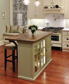48 Amazing space-saving small kitchen island designs | Island design ...